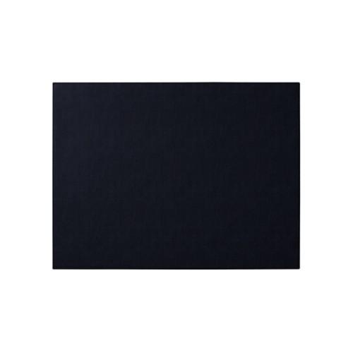 Sottomano personalizzata (60 x 40 cm) - Blu Navy - Cuoio rigenerato
