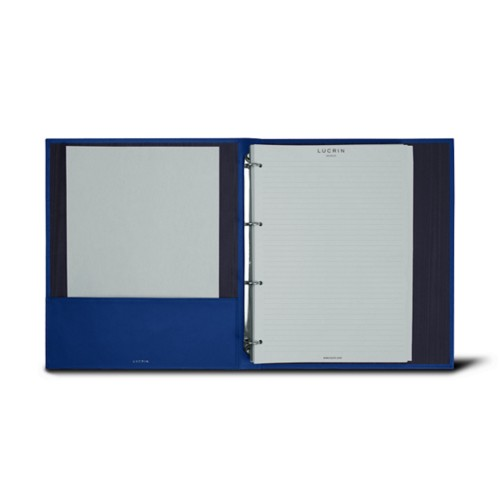 A4 ring binder - 4 rings (100 sheets)