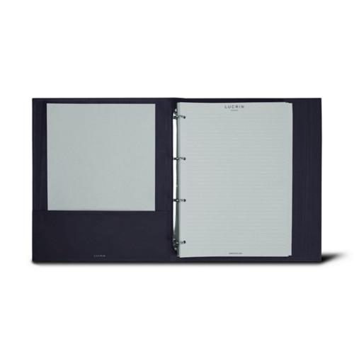 Raccoglitore ad Anelli A4 - 4 Anelli (100 fogli di carta)