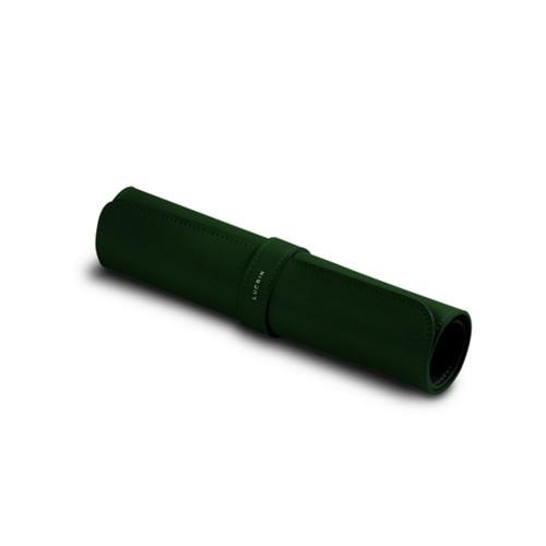 Tappetino mouse morbido - Verde scuro - Pelle Liscia