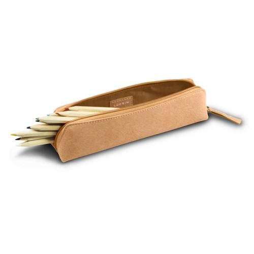 Estuche para lápices - Natureles  - Piel de curtición vegetal