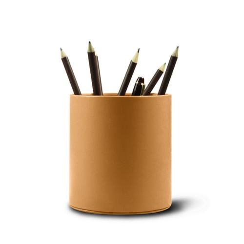 Gros Pot à stylo rond
