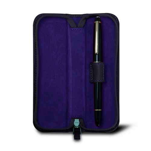 Single pen zip-up case