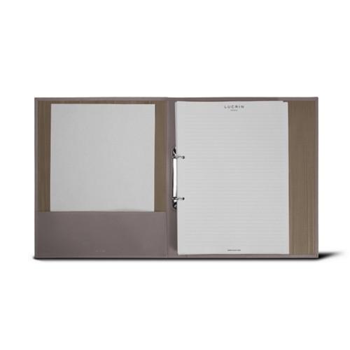 A4-Büroordner - 2 ringe (100 Blatt Papier)