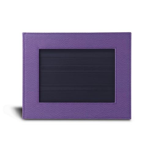 Kleine fotolijst (24 x 19 cm) - Lavendel - Korrelig Leer
