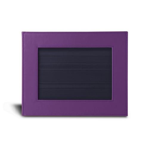 Kleine fotolijst (24 x 19 cm) - Lavendel - Soepel Leer