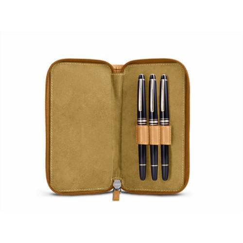 Etui 3 stylos Zippé