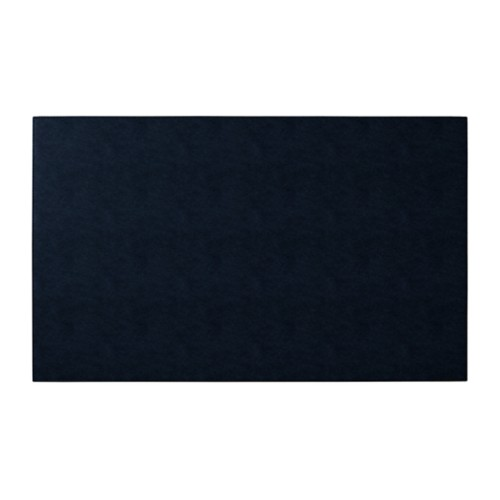 Rigid conference pad (73 x 45 cm) - Navy Blue - Vegetable Tanned Leather
