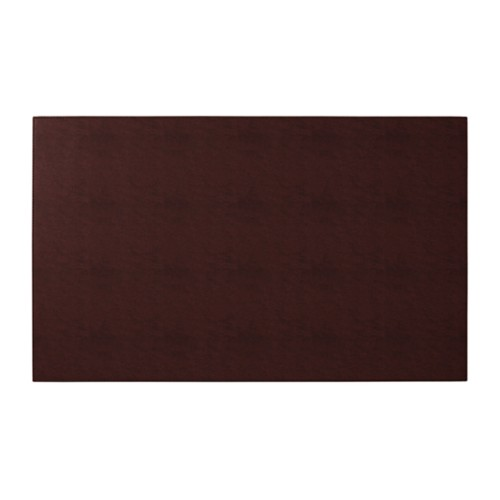 Rigid conference pad (73 x 45 cm) - Dark Brown - Vegetable Tanned Leather