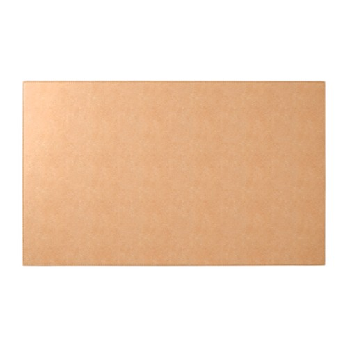 Rigid conference pad (73 x 45 cm) - Natural - Vegetable Tanned Leather