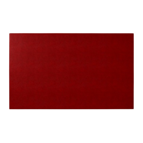 Rigid conference pad (73 x 45 cm) - Carmine - Vegetable Tanned Leather