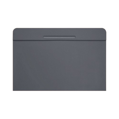 Customisable desk blotter (15.7 x 14 inches) - Mouse-Grey - Smooth Leather