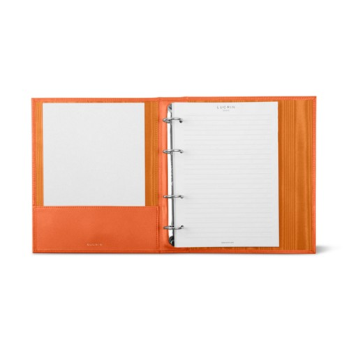 A5 Ring binder - 4 rings (100 sheets)