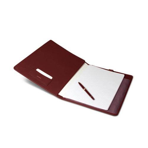 Portabloc y cuaderno A4