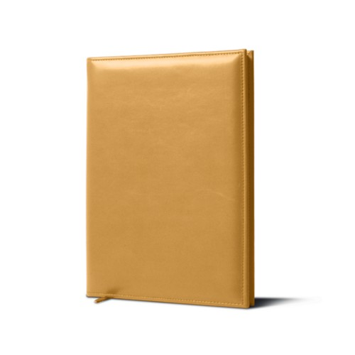 Cellar Book - Mustard Yellow - Smooth Leather