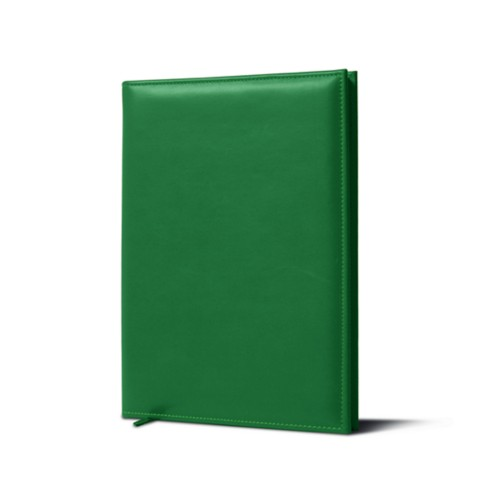 Cellar Book - Light Green - Smooth Leather