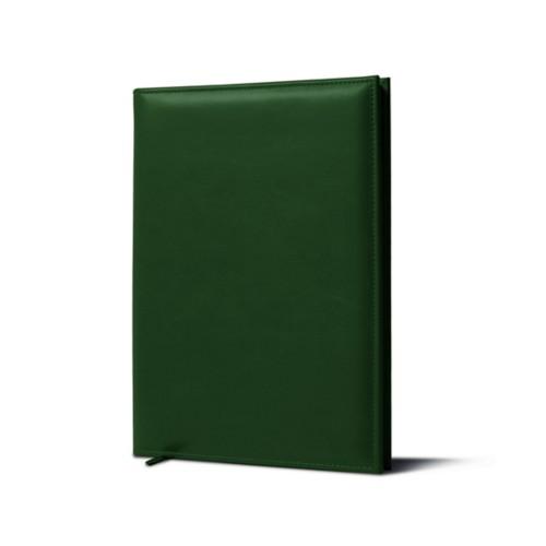 Cellar Book - Dark Green - Smooth Leather