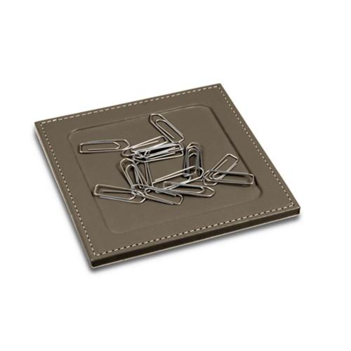Soporte para clips con esquinas cuadradas