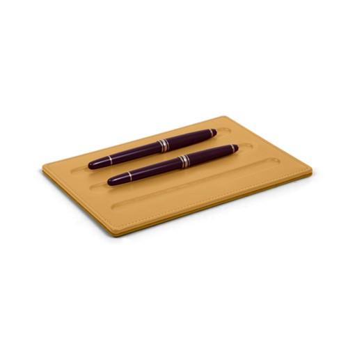 Soporte para 3 bolígrafos con esquinas cuadradas
