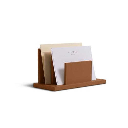 Briefhalter rechteckig