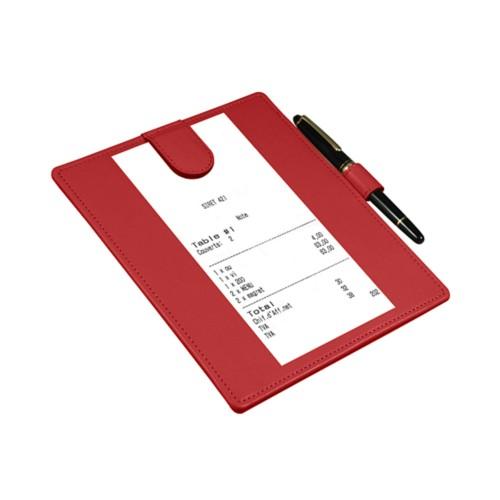 Schreibpolster für Unterschriften mit magnetischer Klappe