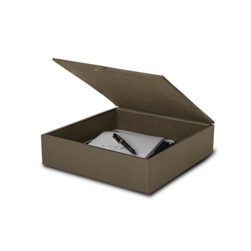 Large storage box (27 x 27 x 7 cm)