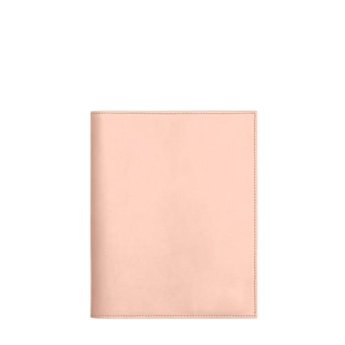 Funda para cuaderno A5 - Nude - Piel Liso