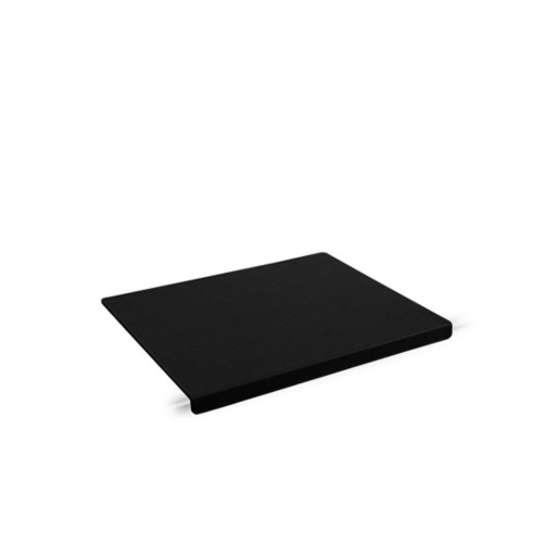 Schreibtischunterlage mit Kantenschoner (47,5x35cm) - Schwarz - Lederfaserstoff