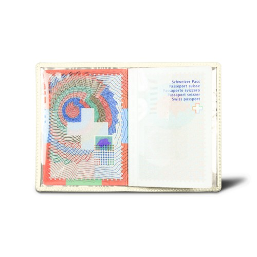 Universal Passport Holder - Off-White - Goat Leather