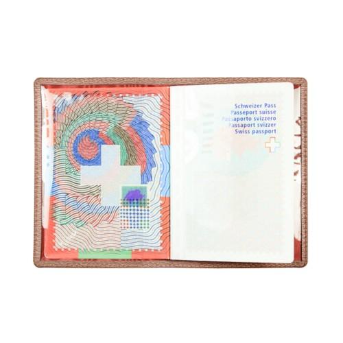 Universal Passport Holder - Tan - Goat Leather