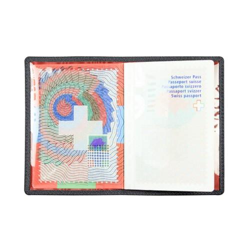 Universal Passport Holder - Black - Goat Leather