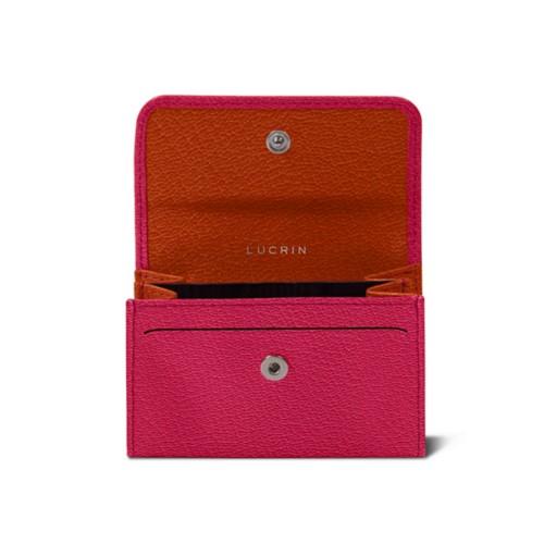 Small bicolour wallet