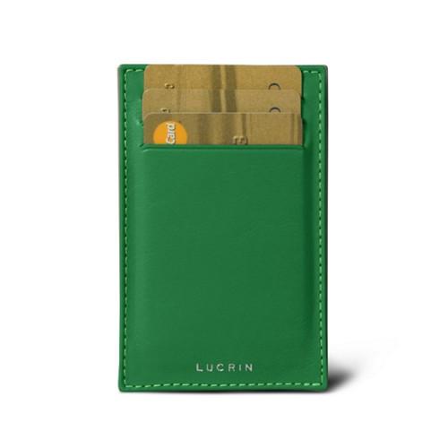 Portafoglio da visita e carte di credito