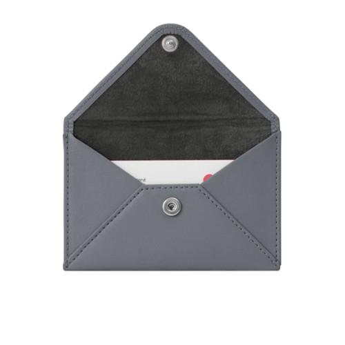 Pequeña cartera plana para tarjetas