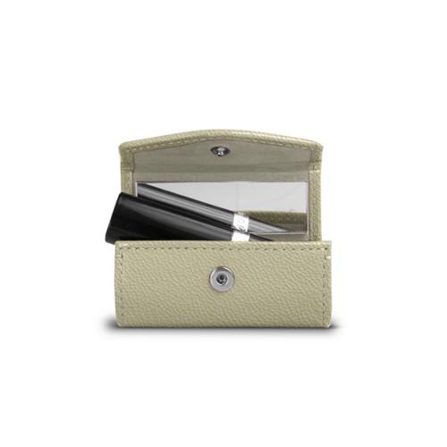Lipstick Holder - Off-White - Goat Leather