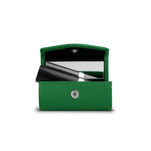 リップケース - Light Green - Smooth Leather