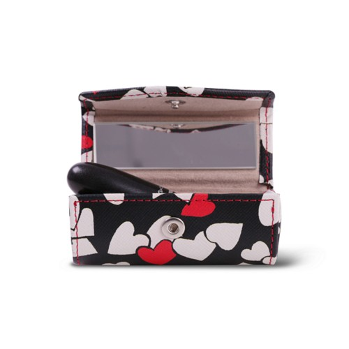Lipstick holder - Heart - Safiano