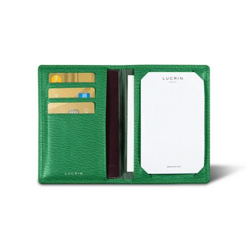 Luxury pocket note pad