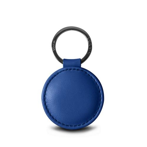 Porte-clés rond (5 cm) - Argenté