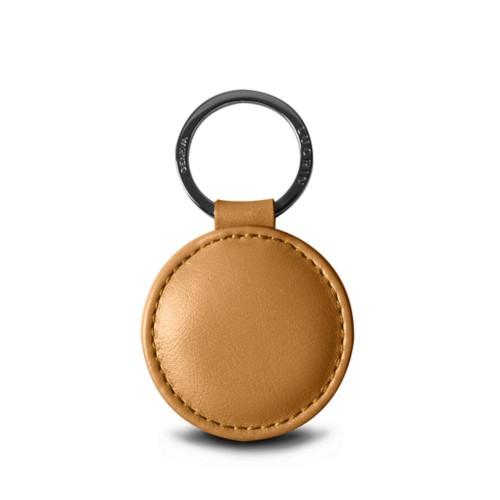 Portachiavi rotondo (5 cm) - Argento