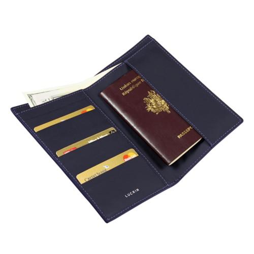 Porta-banconote, carte di credito e passaporto formato internazionale