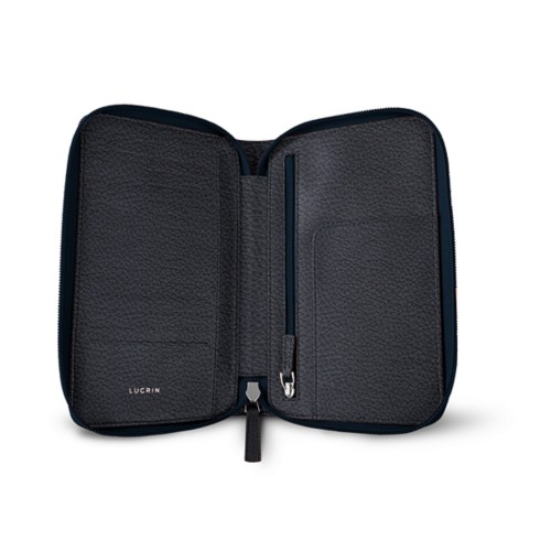 Zipped travel wallet