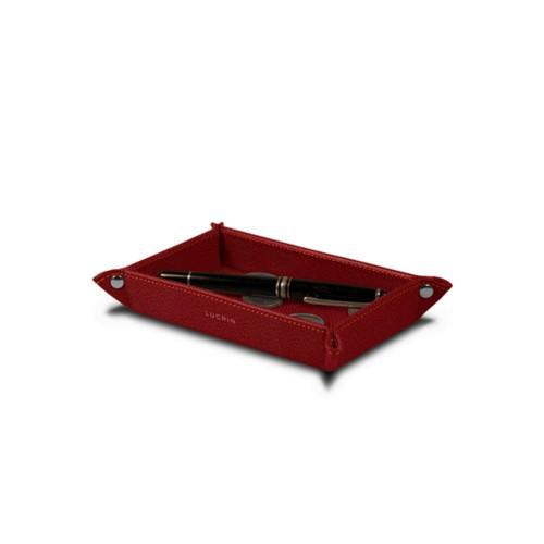 Bandeja organizadora rectangular pequeña (17 x 11 cm)