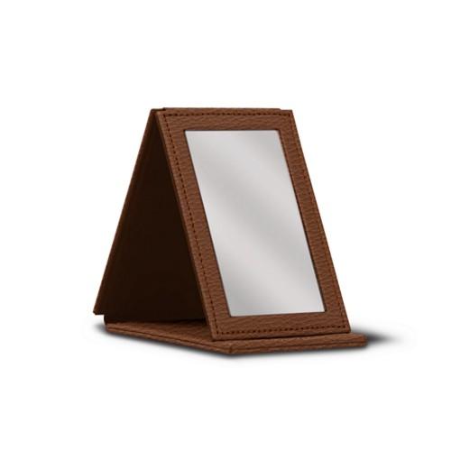 Espejo de bolsillo rectangular