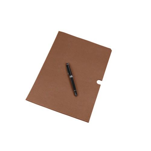 Lederhülle für Dokumente