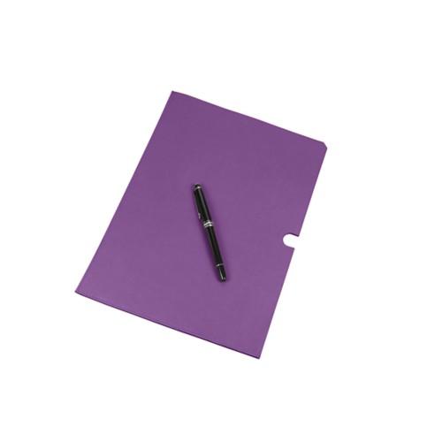 A4 Documentenhoes - Lavendel - Soepel Leer