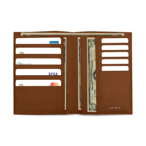 Brieftasche und Kreditkartenetui