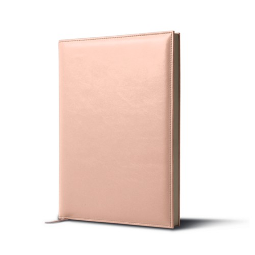 Visitors book - Nude - Smooth Leather