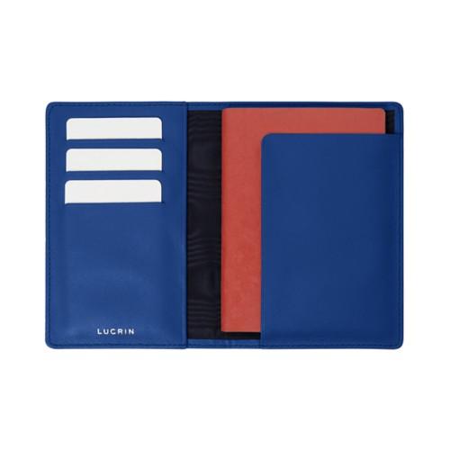 Étui passeport et carte de fidélité