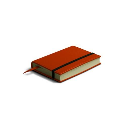 Piccolo diario personale con banda elastica